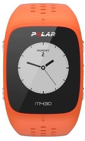 Zegarek sportowy Polar M430 pomarańczowy M/L