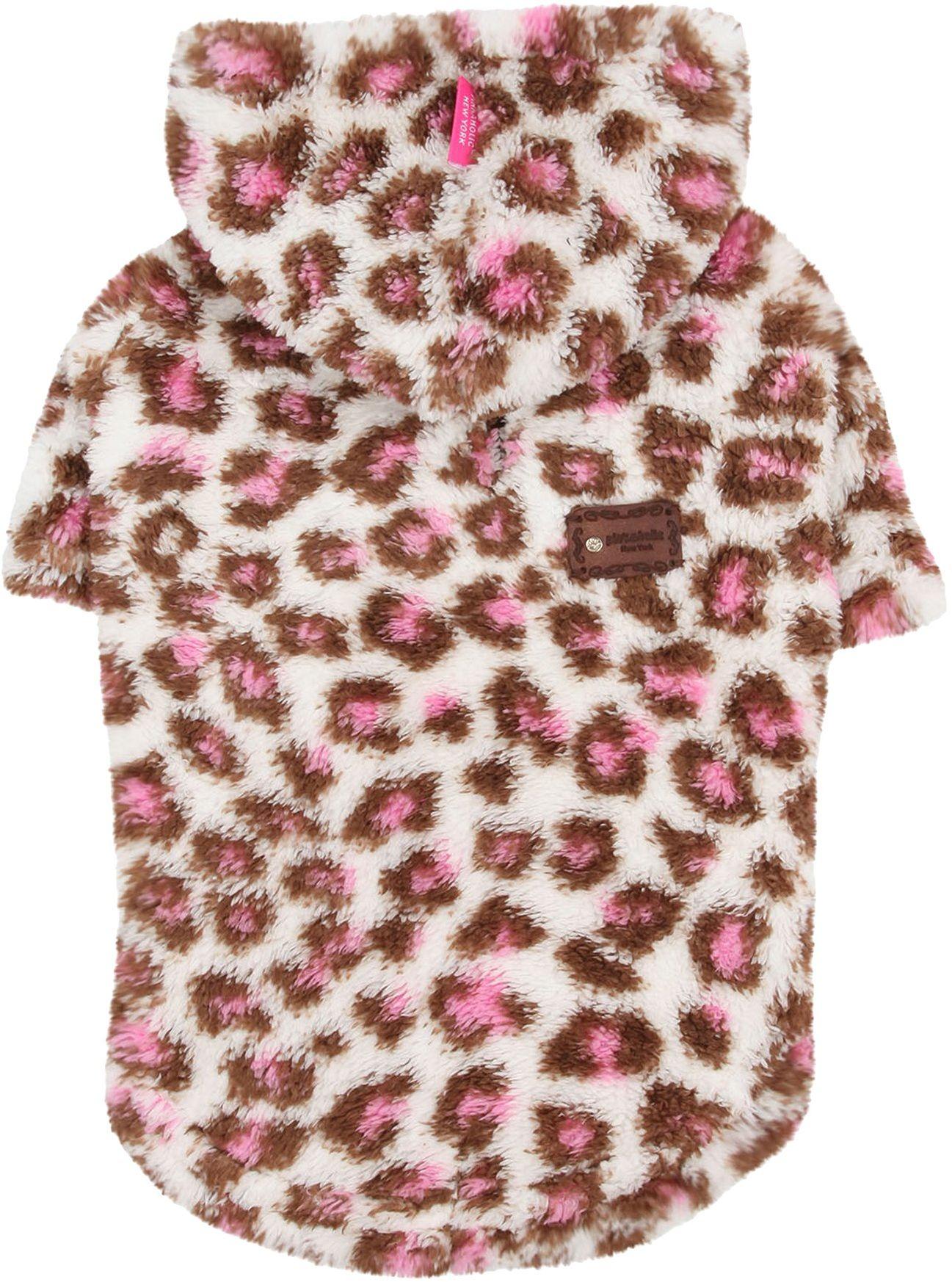 Pinkaholic New York NAOD-TS7078 Leopup Sweater, XL, różowy