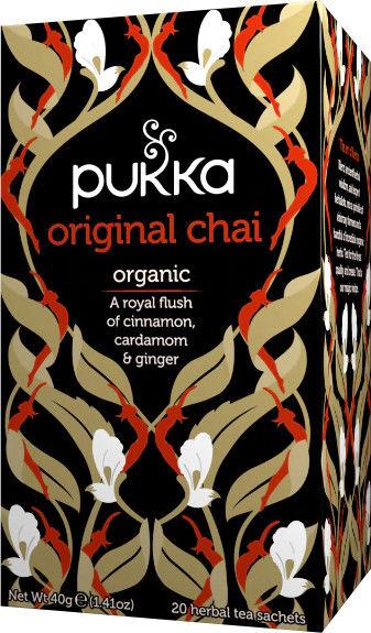 PUKKA, Herbata Czarna Herbata, Original Chai