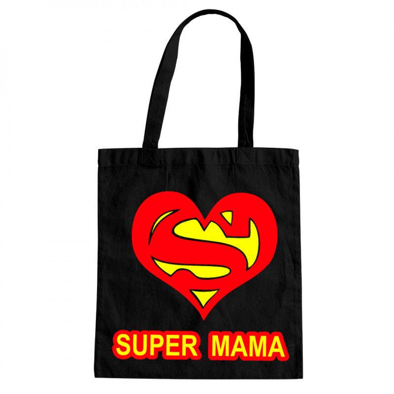 Super mama - torba z nadrukiem