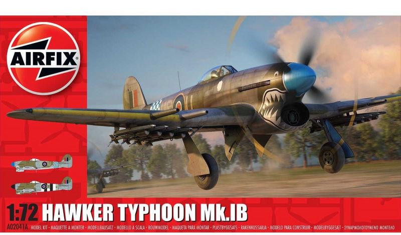 Model plastikowy Samolot Hawker Typhoon Mk.Ib