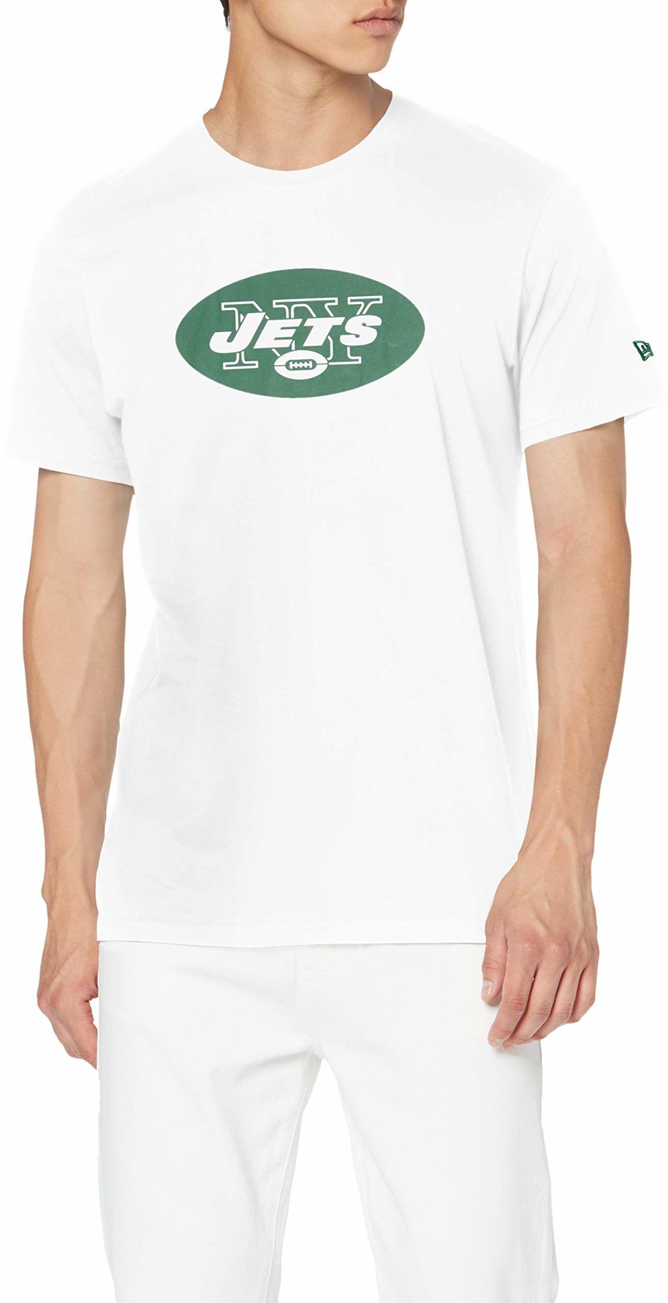 adidas męska koszulka New York Jets, biała, 3XL