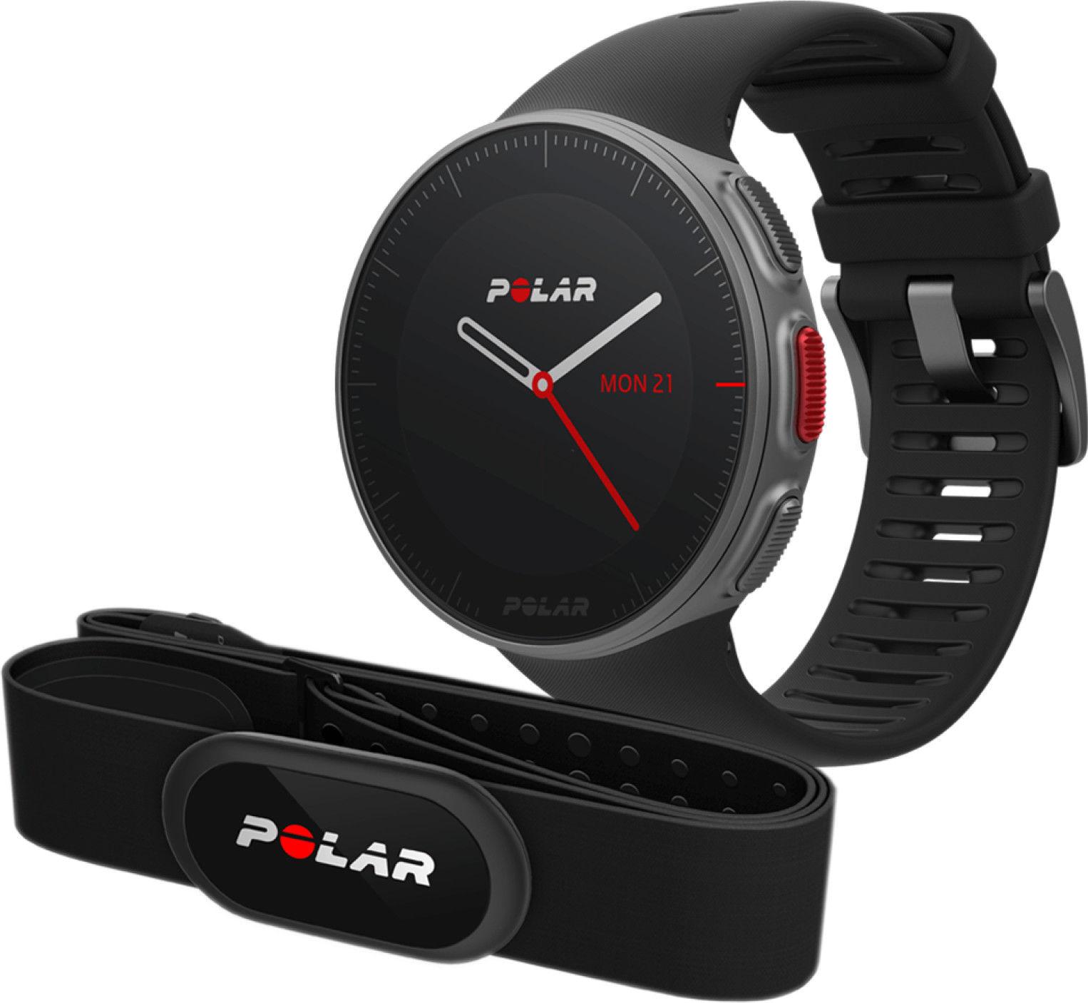Zegarek sportowy Polar Vantage V H10 czarny