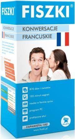 Fiszki Premium. Język francuski. Konwersacje - Piotr Dąbrowski