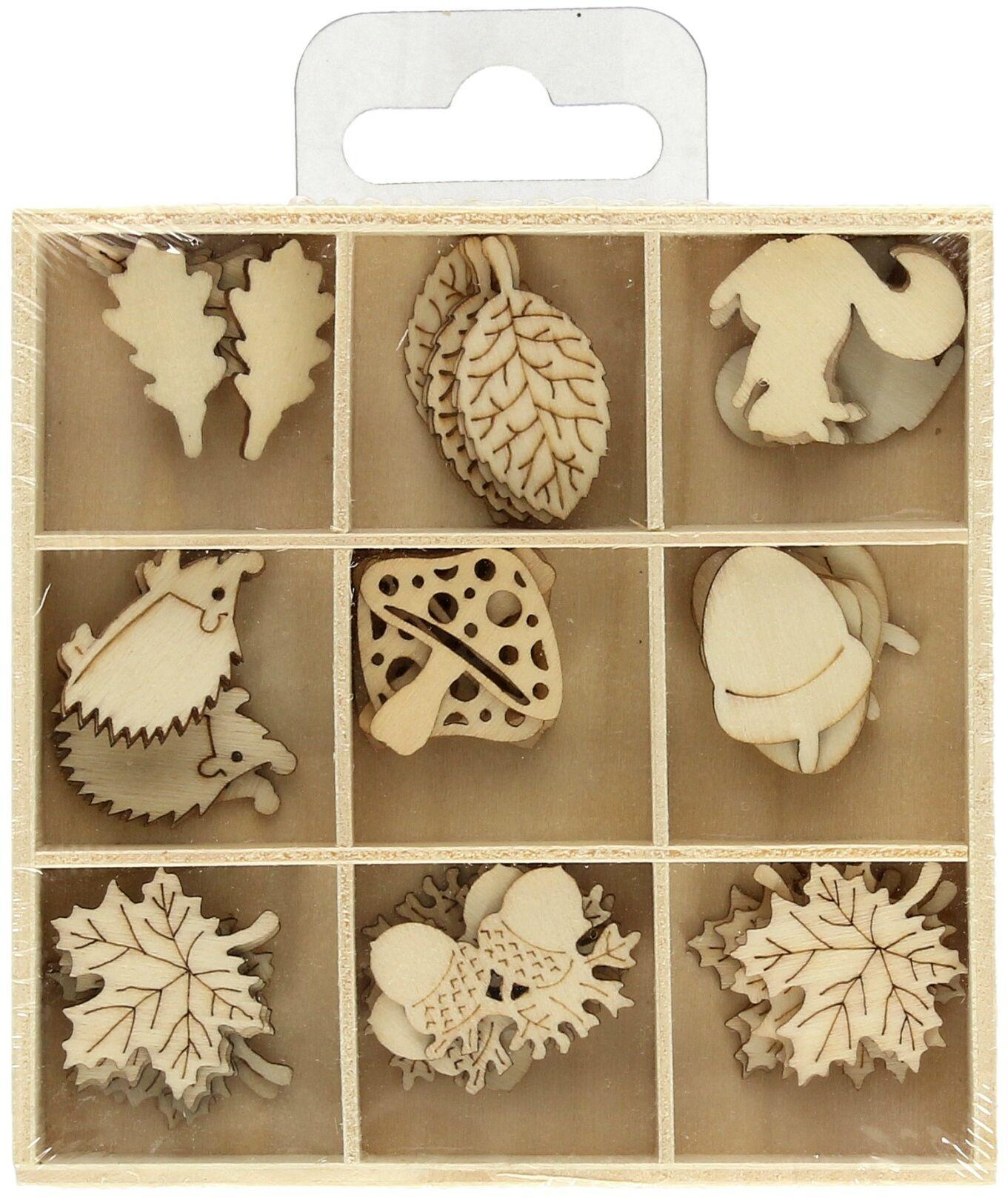 Ozdoby drewniane pudełko Jesień (45)