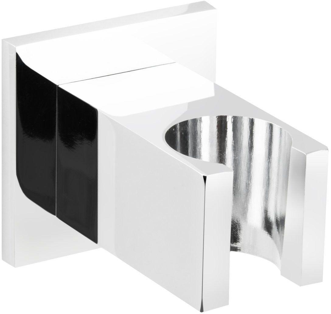 Uchwyt prysznicowy Corsan CMU188BL do słuchawki prysznicowej czarny
