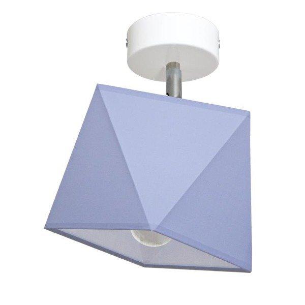 Lampa sufitowa z abażurem DIAMENCIK I śr. 22cm [abażur do wyboru]