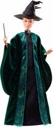 Harry Potter, Profesor Mcgonagall Lalka Kolekcjonerska (Wysokość: 29 Cm) W Szacie Hogwartu Z Tiarą I Różdżką FYM55