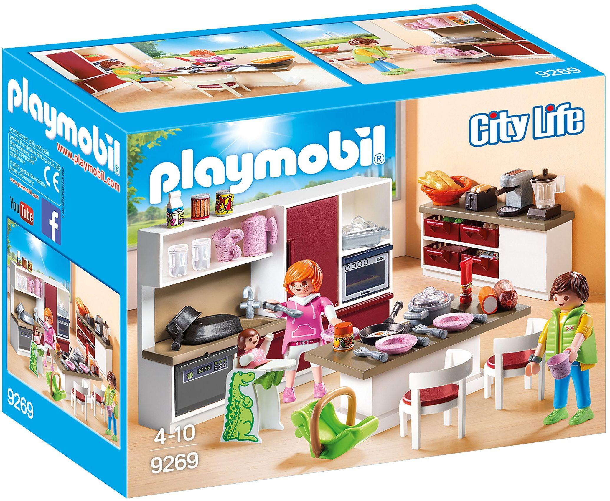 PLAYMOBIL City Life 9269 Duża rodzinna kuchnia, od 4 lat