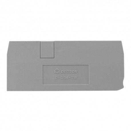Płytka końcowa do złączki szynowej 4mm2 DS4-TW DGN 4104