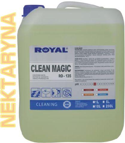 Płyn do mycia i dezynfekcji Clean Magic 5 l Royal