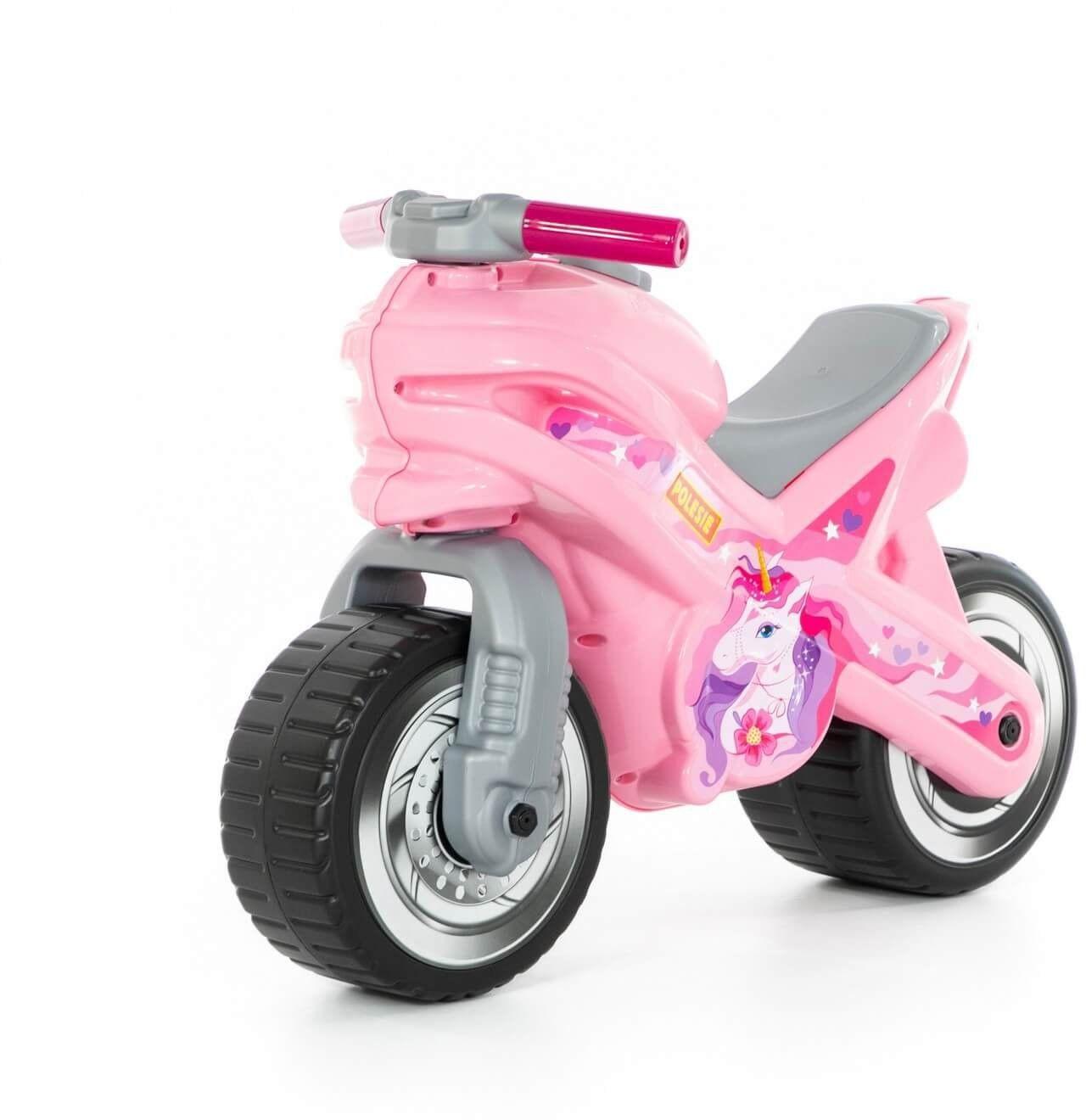 Jeździk Jednorożec Motorek Biegowy MX Różowy