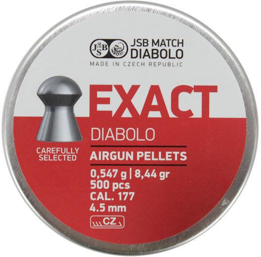 Śrut Diabolo JSB EXACT 4,50 mm 500szt.