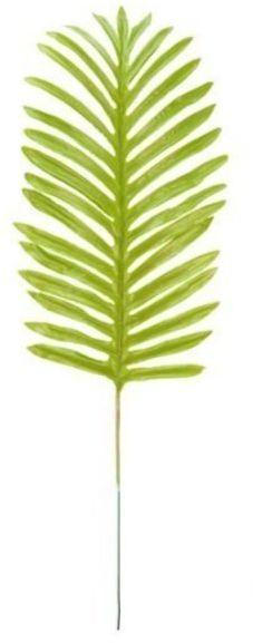 Sztuczny liść palmy jasnozielony 51cm 1 sztuka VC2394-j.zielony