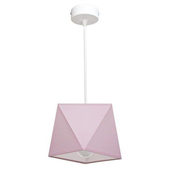 Lampa wisząca z abażurem DIAMENCIK I śr. 22cm [abażur do wyboru]