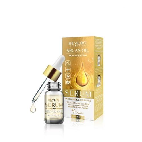 Regenerujące serum do twarz z olejem arganowym REVERS COSMETICS 10ml