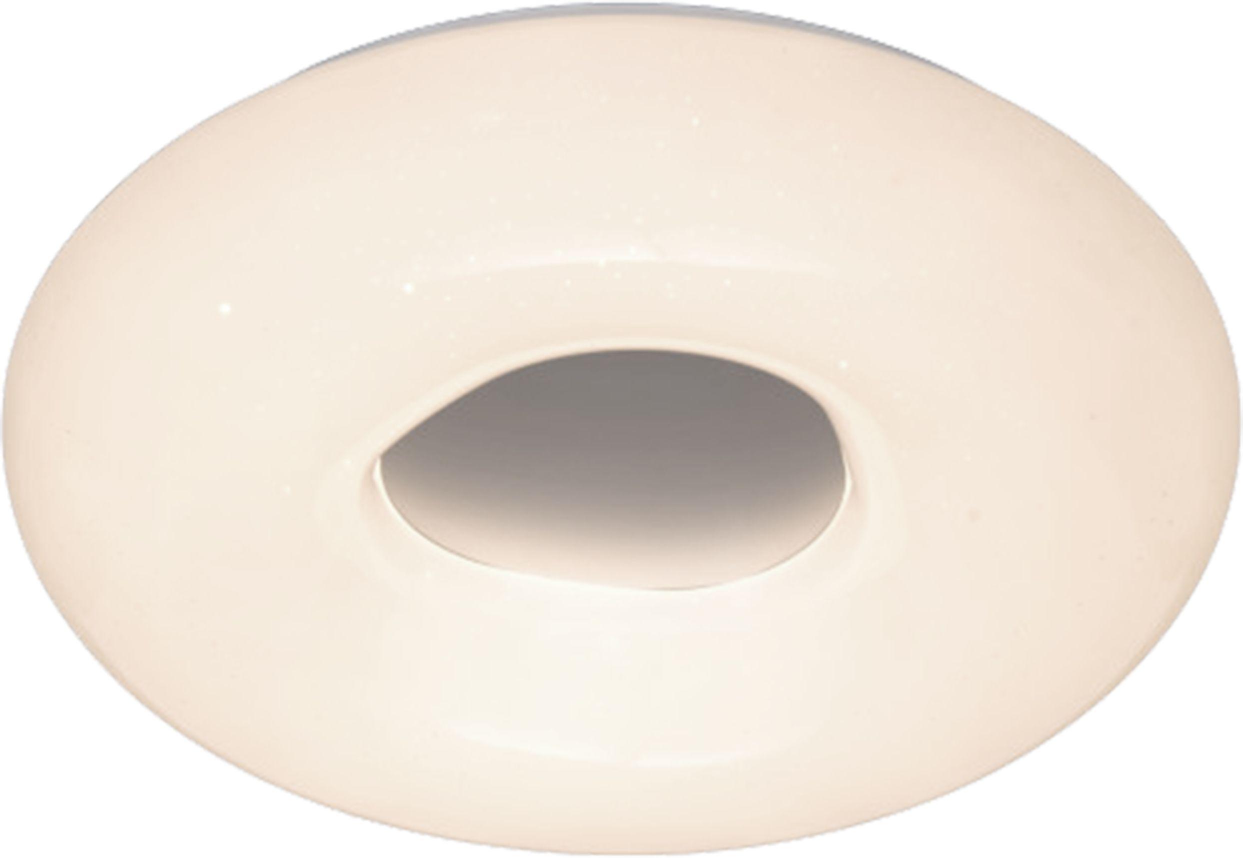 Light Prestige Aruba LP-2424/1C-40 WH plafon lampa sufitowa okrągła akryl biały LED 4000K1x24W IP44 40cm