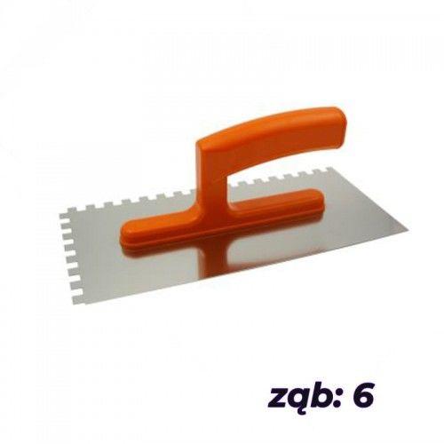 SOLID Paca nierdzewna zębata 130x270mm ząb 6