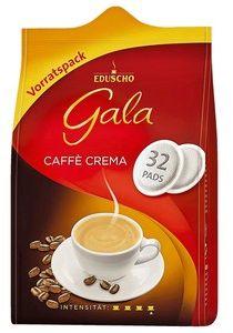 TCHIBO EDUSCHO Gala Caffe Crema kawa do Senseo 32szt