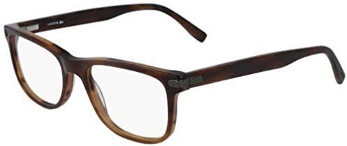 Lacoste L2841 Acetate okulary przeciwsłoneczne Striped Brown unisex dla dorosłych, wielokolorowe, standardowe