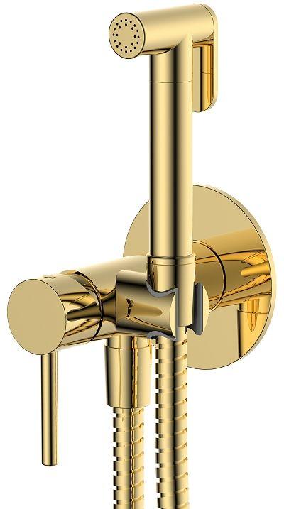 Omnires Y zestaw bidetowy punktowy podtynkowy 1-funkcyjny złoty SYSYBI2GL
