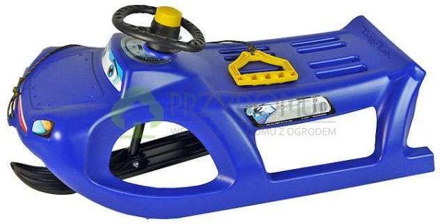Sanki plastikowe ZIGI-ZET Control niebieskie - Prosperplast