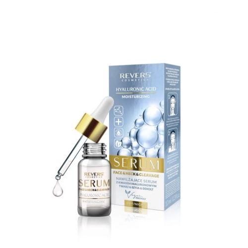 Nawilżające serum do twarz z kwasem hialurenowym REVERS COSMETICS 10ml