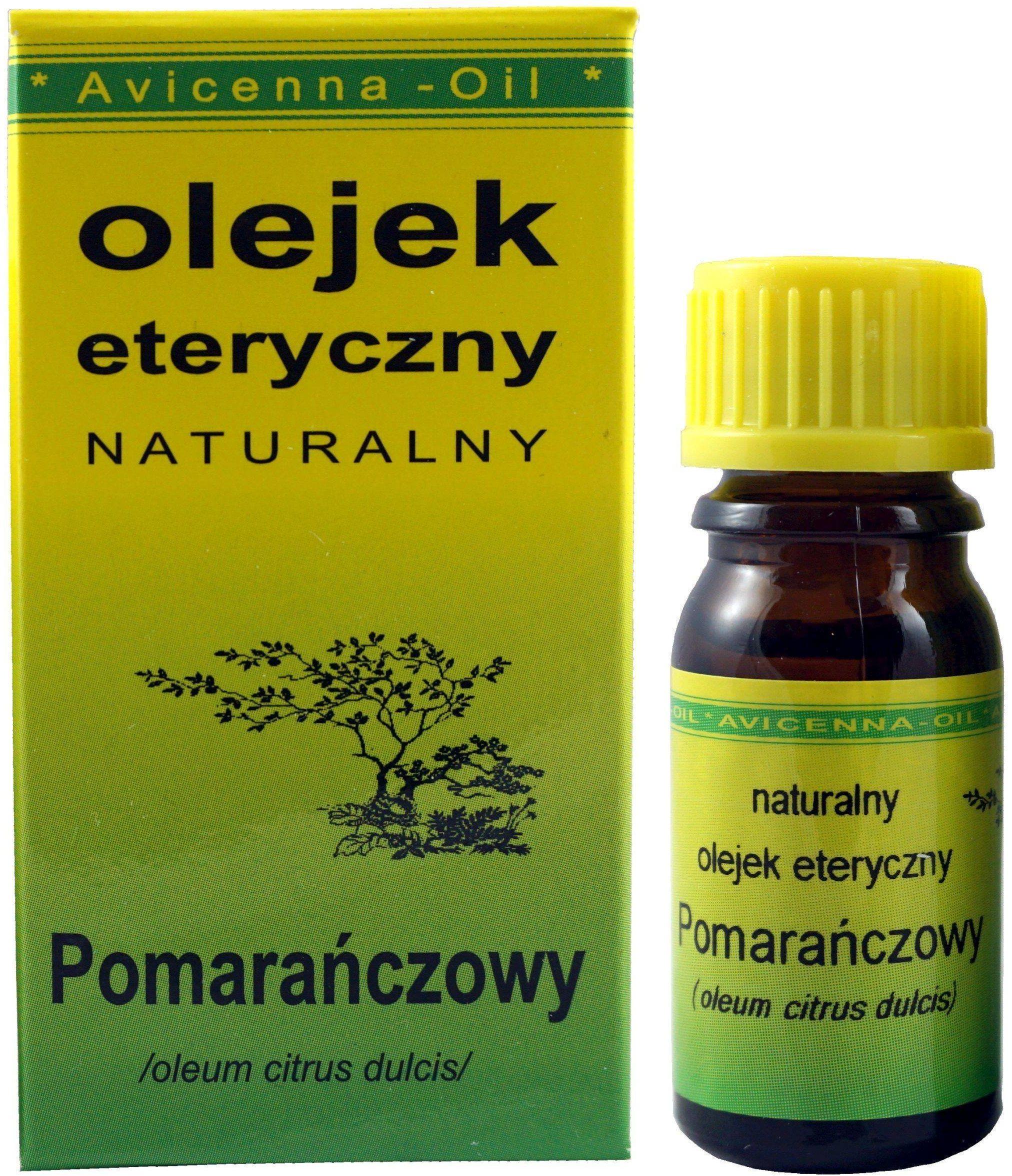 Olejek eteryczny Pomarańczowy - 7ml - Avicenna Oil