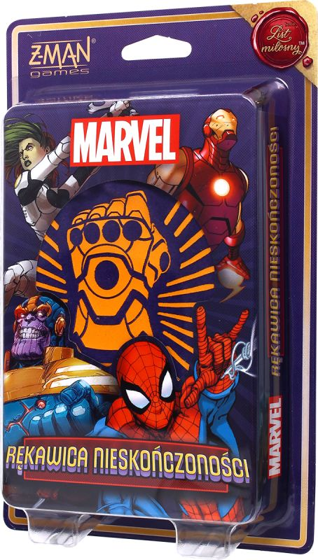 Marvel: Rękawica Nieskończoności ZAKŁADKA DO KSIĄŻEK GRATIS DO KAŻDEGO ZAMÓWIENIA