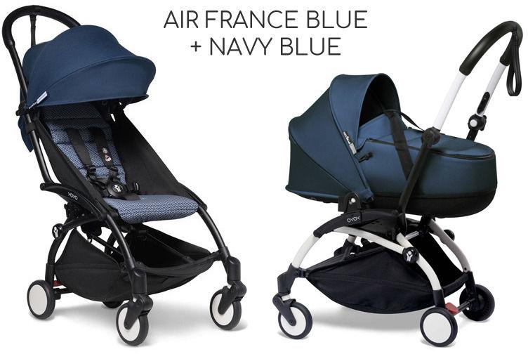 BABYZEN YOYO 2 2w1+GRATIS DARMOWA DOSTAWA! ODBIÓR OSOBISTY! - Air France Blue+Navy Blue