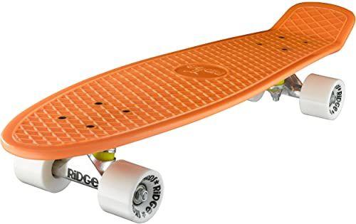 Ridge Deskorolka Big Brother nikiel 69 cm Mini Cruiser, pomarańczowa/biała