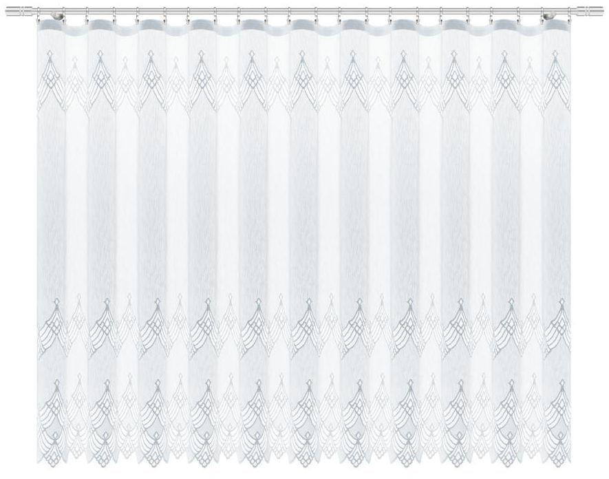 Firana na taśmie Ewix 300 x 160 cm biała