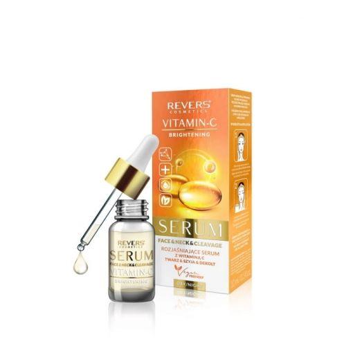 Rozjaśniające serum do twarz z witaminą C REVERS COSMETICS 10ml