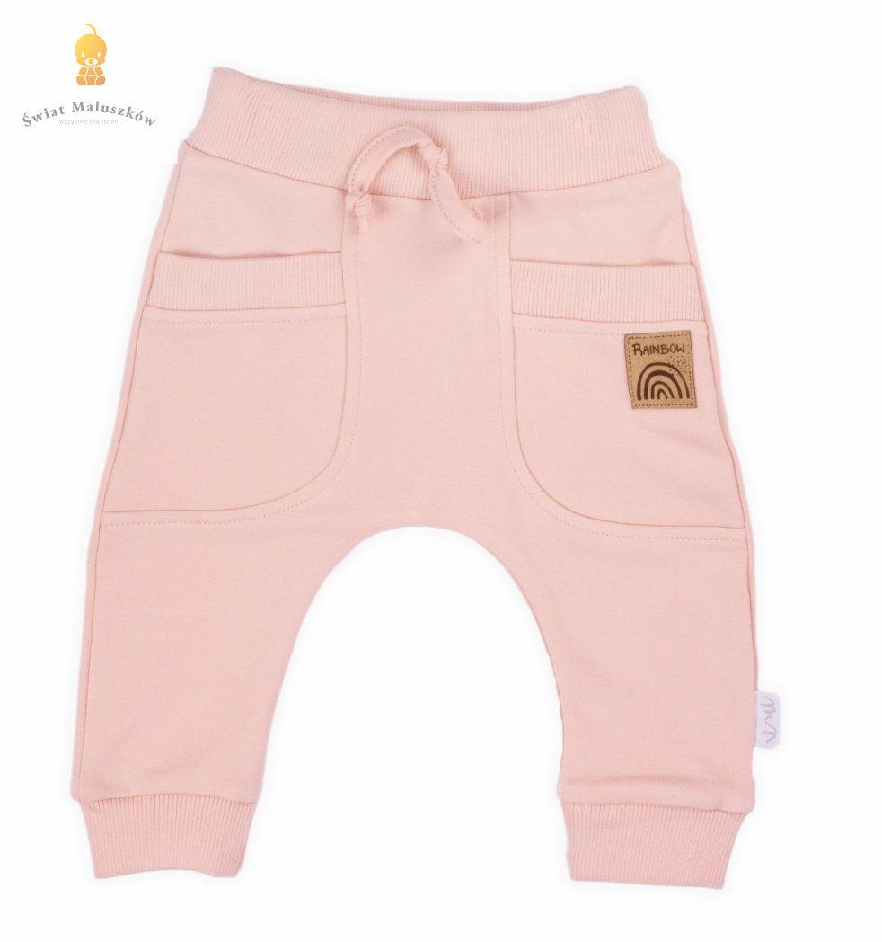 Spodnie dresowe Rainbow NICOL r.56-104