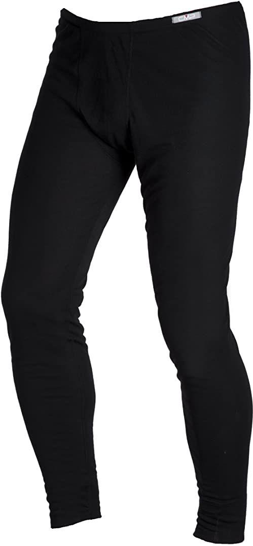 CMP Unisex dziecięca bielizna termiczna, spodnie, czarna (Nero), 104