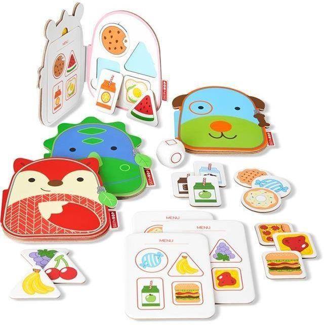 Gra Co na lunch? Zoo 9G881610-Skip Hop, gry edukacyjne dla dzieci