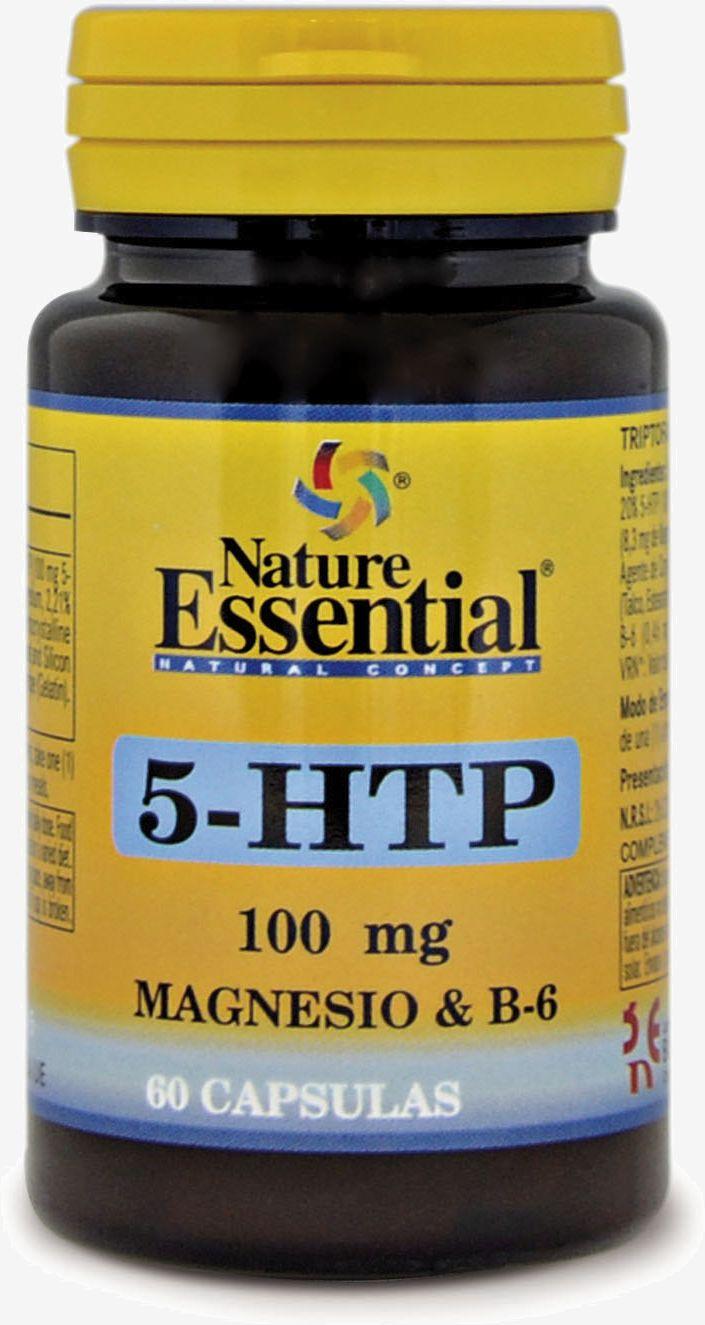 Nature Ess Triptofano 5-Htp 100 Mg Magnesio B-6 60 kapsułek