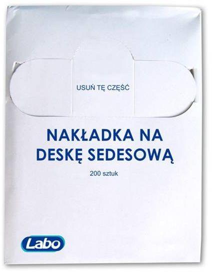 Higieniczna nakładki na deskę sedesową - zapas, karton - 200 szt