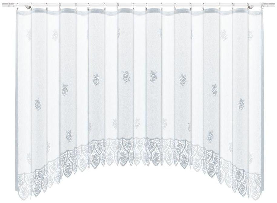 Firana na taśmie Bozex 300 x 150 cm biała