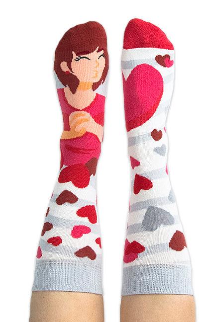Skarpety kolorowe Nanushki z serii Happy Friends Juliet Beloved