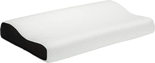 Pikolin Home - Poduszka wiskoelastyczna pod głowę, ergonomiczna, z aloesem, twarda średnio-miękka, 40 x 70 cm, wysokość 7-11 cm