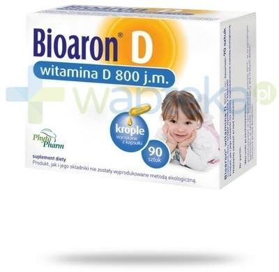 Bioaron D witamina D 800j.m. 90 kapsułek twist-off
