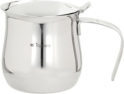 Tognana Riflex dzbanek do kawy A serwowanie 8 filiżanek, stal nierdzewna, srebrny