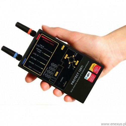 Wykrywacz Protect 1207i - GPS, WIFI, GSM, Bluetooth