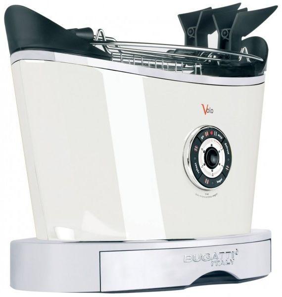 Casa Bugatti VOLO Toster - Opiekacz Biały