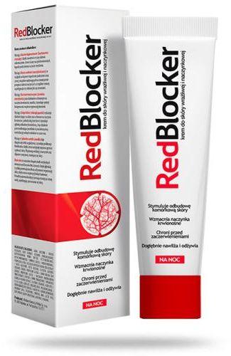 RedBlocker krem do skóry naczynkowej na noc 50 ml [bez kartonika zewnętrznego]