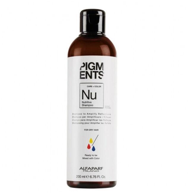 Alfaparf Pigments szampon do włosów suchych 200ml