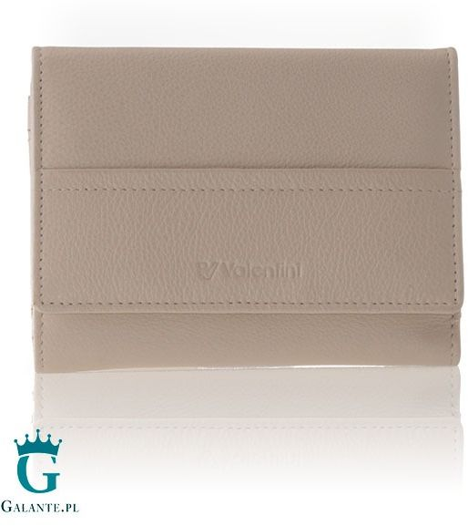 Mały portfel damski z miękkiej skóry valentini 154-263