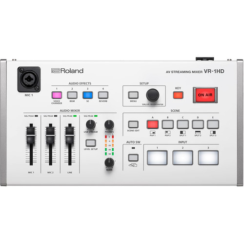Roland VR-1HD - mikser AV streaming, 3x HDMI in/out, 1080p30 Roland VR-1HD
