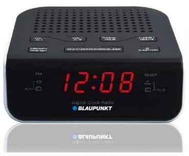 Radiobudzik BLAUPUNKT CR5WH+ 40 zł na dzień dobry w Klubie MediaMarkt. Sprawdź!